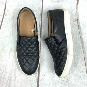 """Black slip on sneakers """"one new day"""" S-9"""